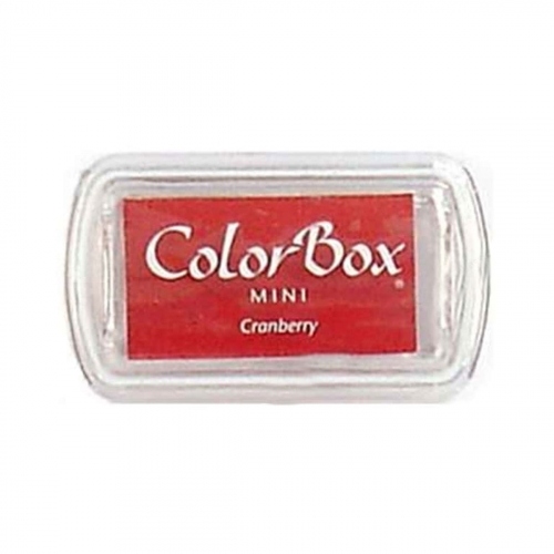 Mini encreur Colorbox - cranberry