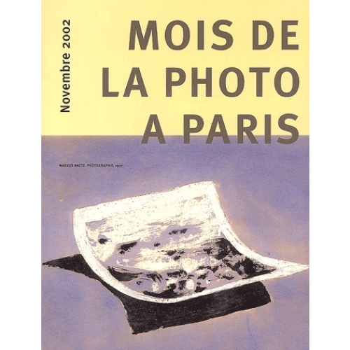 Mois de la photo à Paris. - Novembre 2002