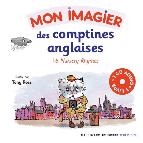 Mon imagier des comptines anglaises - 16 Nursery Rhymes