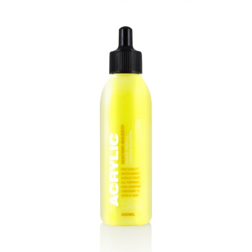 Recharge de peinture acrylique 25ml - Flash Yellow - Montana