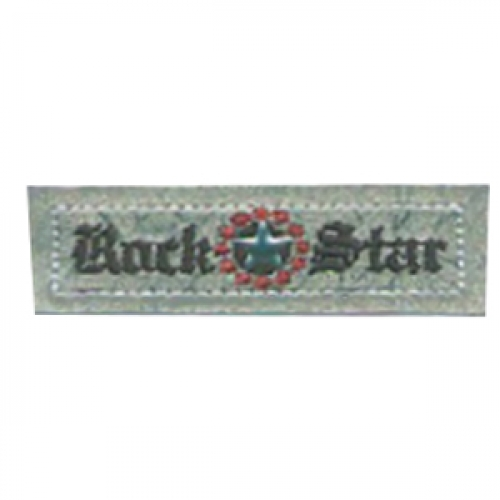 Motif thermocollant - rock star