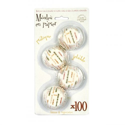 100 moules muffin - papier