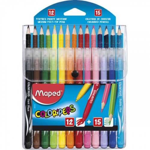 12 feutres Maped Color Peps