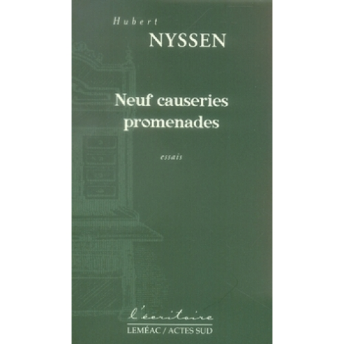 Neuf causeries promenades