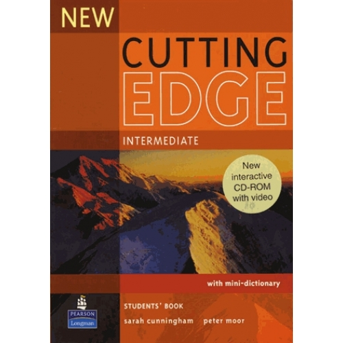 New Cutting Edge Intermediate Student's book with CD-ROM