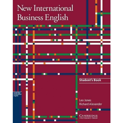 New International Business English - Communication skills in English for business purposes, Student's Book