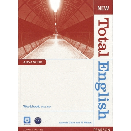 New Total English Advanced - Workbook with Key and Audio CD Pack