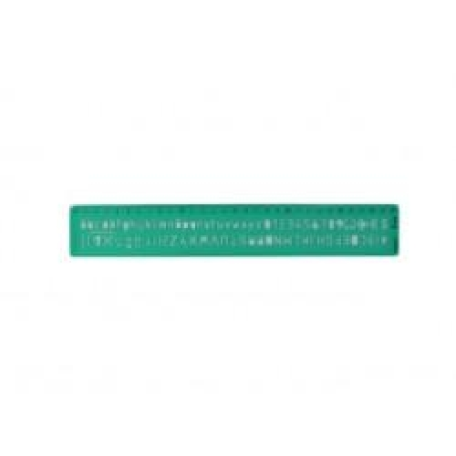 Trace-lettres - Normographe - 8mm
