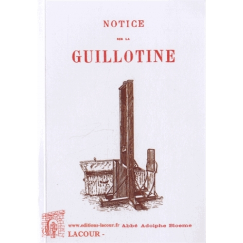 Notice sur la guillotine