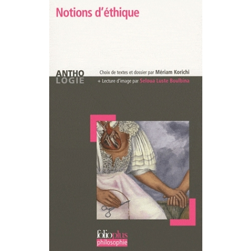 Notions d'éthique