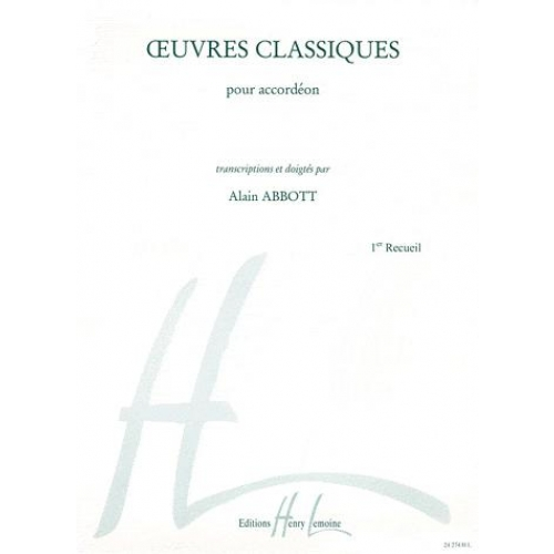 OEUVRES CLASSIQUES