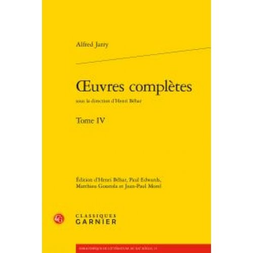 Oeuvres complètes - Tome IV