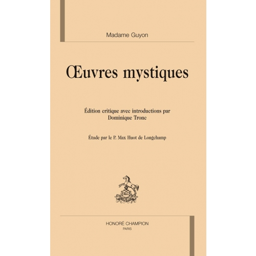 Oeuvres mystiques