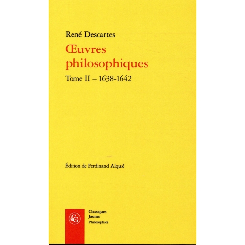 Oeuvres philosophiques - Tome 2