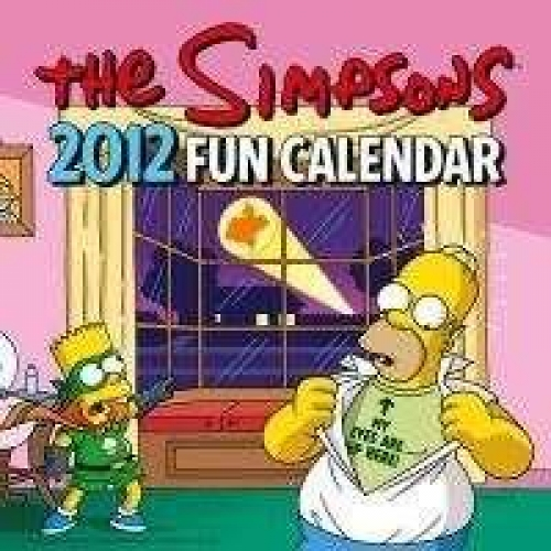 CALENDRIER MURAL 2012 THE SIMPSONS