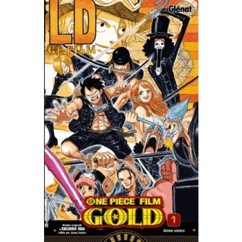 One Piece Gold Tome 1