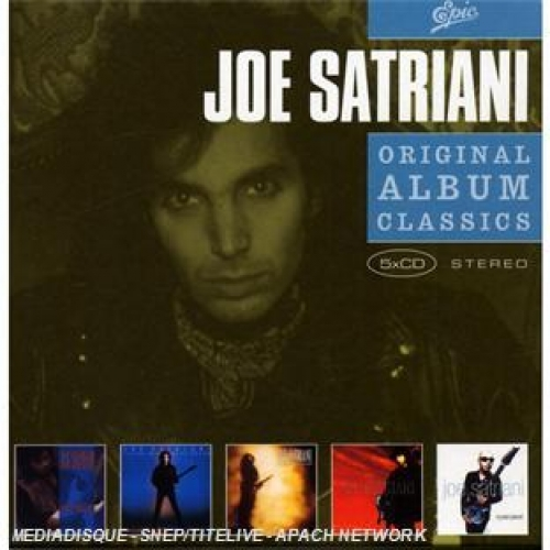 Coffret 5CD - Orignal Album Classics - Joe Satriani