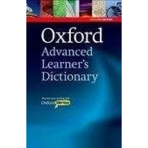 Oxford advanced learner's dictionary 8th edition 2010 hardback with CD-ROM