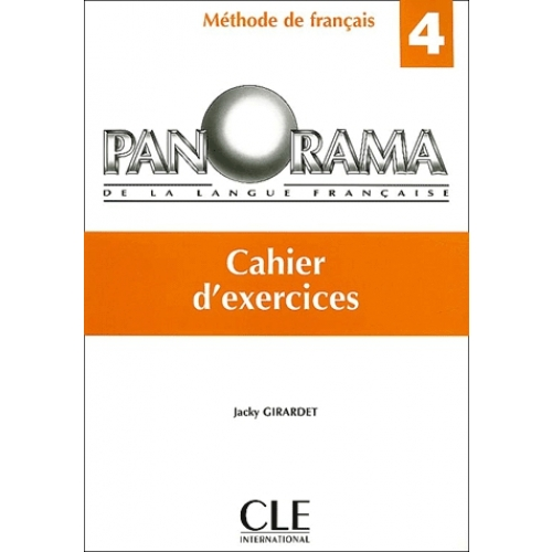 Panorama  4 cahier exercices