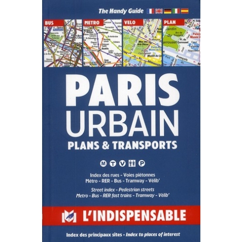 Paris urbain - Plans & transports