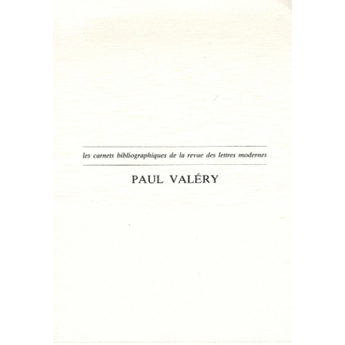 Paul Valéry - Oeuvres - critiques