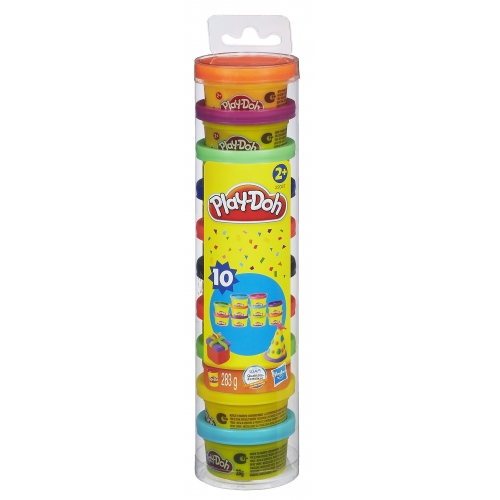 Playdoh - Couleurs Party Tube