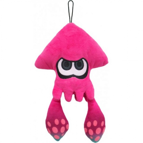 Peluche Squid Lime Pink