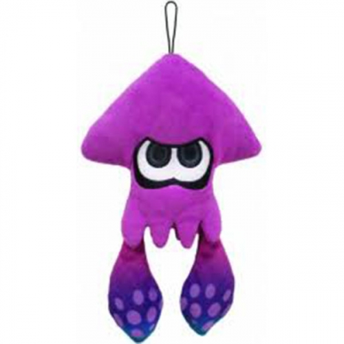 Peluche Squid Lime Purple
