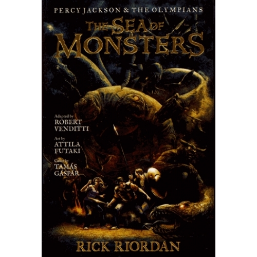 Percy Jackson and the Olympians Tome 2 - The Sea of Monsters