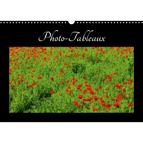 Photo-tableaux - Photos ou tableaux ? Calendrier mural A3 horizontal