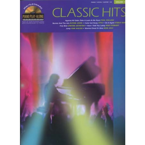 PIANO PLAY ALONG T.14 ; CLASSIC HITS ; PIANO, CHANT, GUITARE