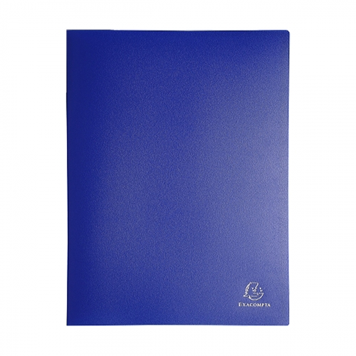 Prot ge documents 21x29 7 cm 60 vues bleu for Porte vue 60 vues carrefour