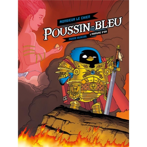 Poussin-bleu Tome 1 - L'armure d'or
