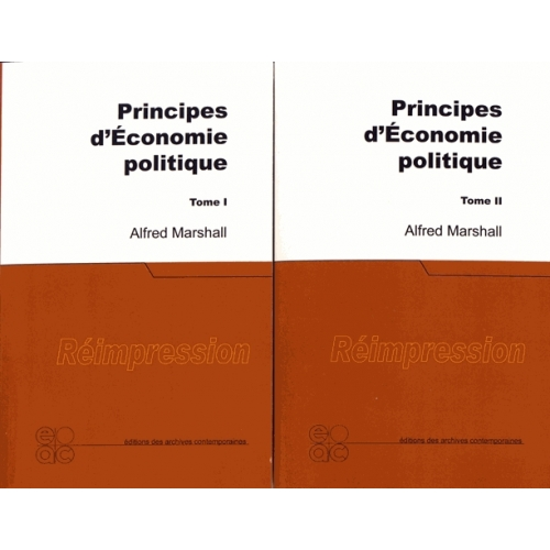 PRINCIPES D'ECONOMIE POLITIQUE. 2 volumes
