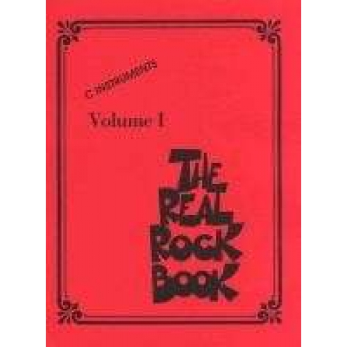 REAL ROCK BOOK VOL.1 C INSTR.