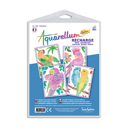 Recharge Aquarellum junior - perroquets