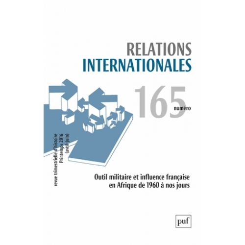 Relations internationales N° 165