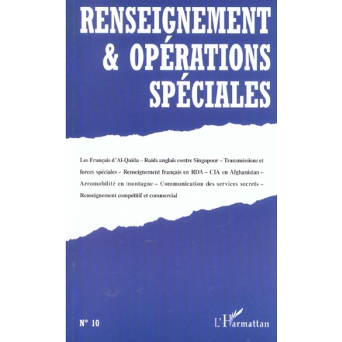Renseignement & opérations spéciales N° 10 Mars 2002