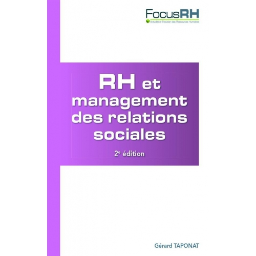 RH et management des relations sociales - Animer le dialogue social