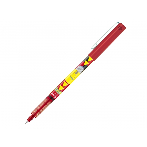 EDITION LIMITEE MIKA - Stylo-roller encre liquide - V5 - Pointe fine - rouge