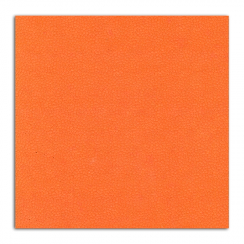 1 feuille de papier recyclé – 38x56cm – Cuir Orange – L'Or de Bombay
