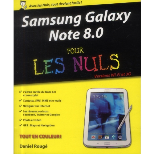 Samsung Galaxy Note 8.0 pour les Nuls