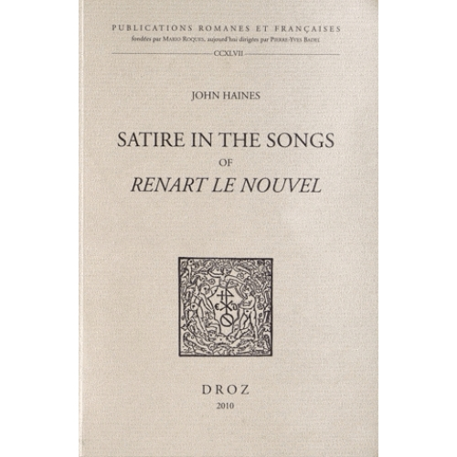 Satire in the songs of Renart le nouvel