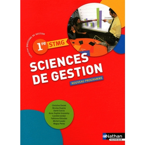 Sciences de gestion 1re STMG