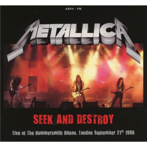 SEEK AND DESTROY, LIVE AT HAMMERSMITH ODEON