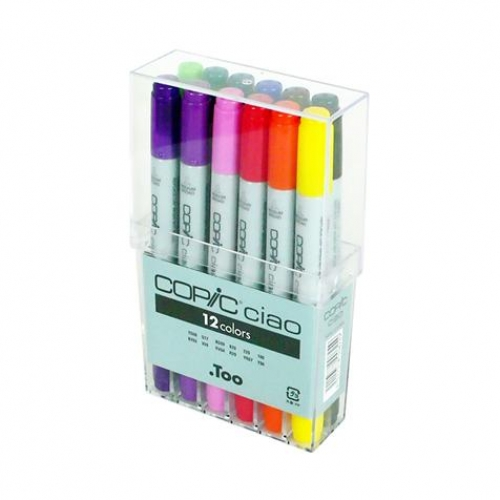 Set de 12 feutres Copic Ciao