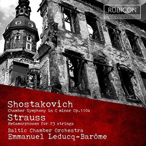 SHOSTAKOVITCH, RICHARD STRAUSS - CHAMBER SYMPHONY, OP. 110, METAMOPHOSEN FOR 23