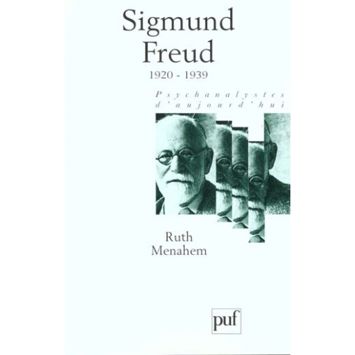 Sigmund Freud. Volume 4, 1920-1939