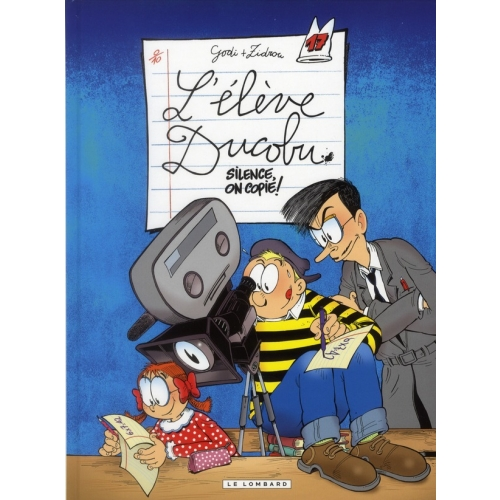 L'élève Ducobu Tome 17 - Silence, on copie !