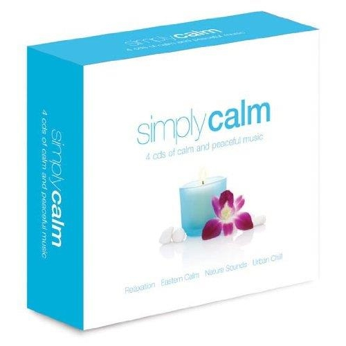 Coffret 4 CD - Simply Calm
